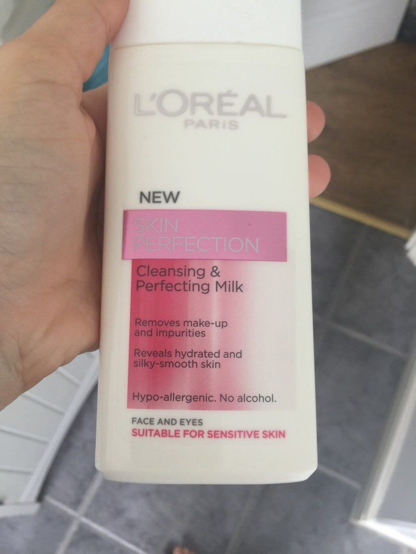 L'Oréal skin perfection cleansing and perfecting milk