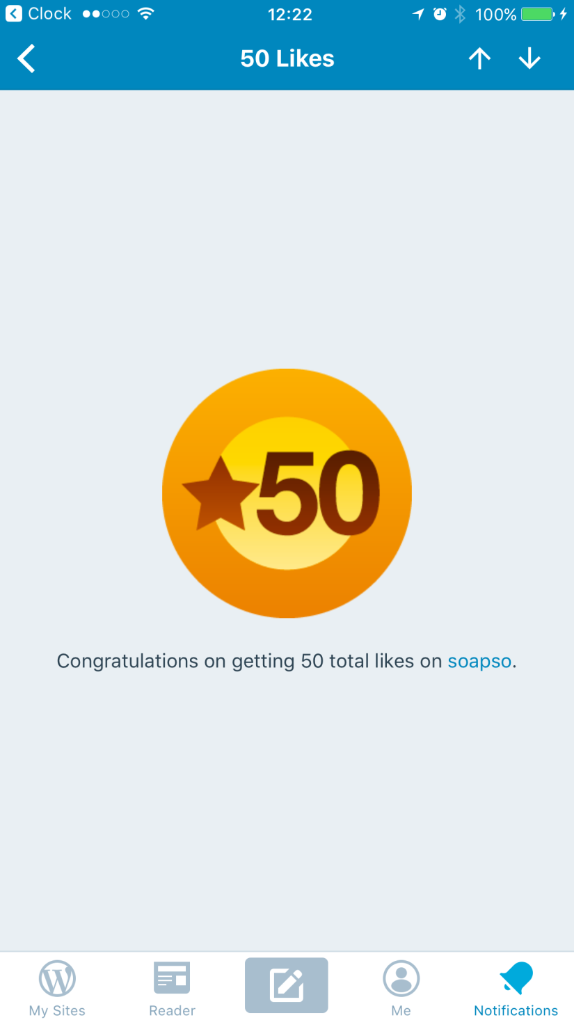 50 likes?!?