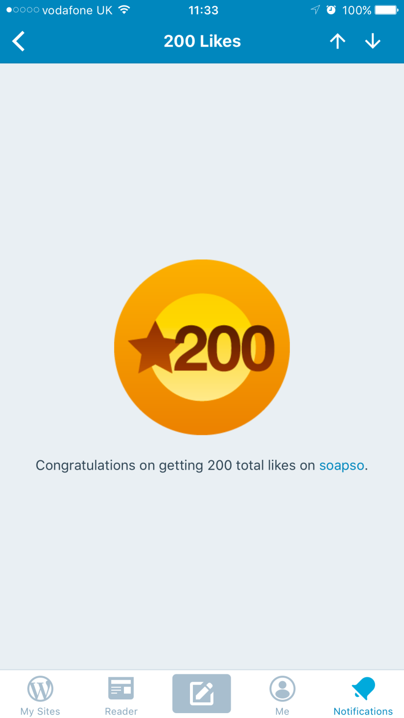 200 likes ?