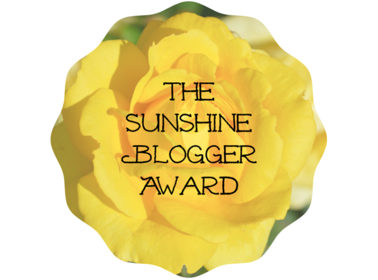 I have been nominated for the sunshine bloggeraward?!