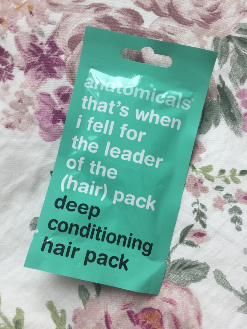 Anatomicals – deep hair conditioning pack