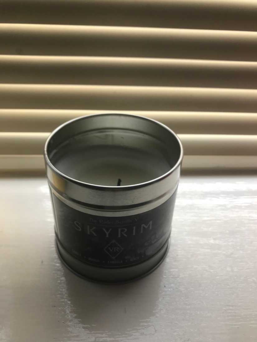 The skyrim candle